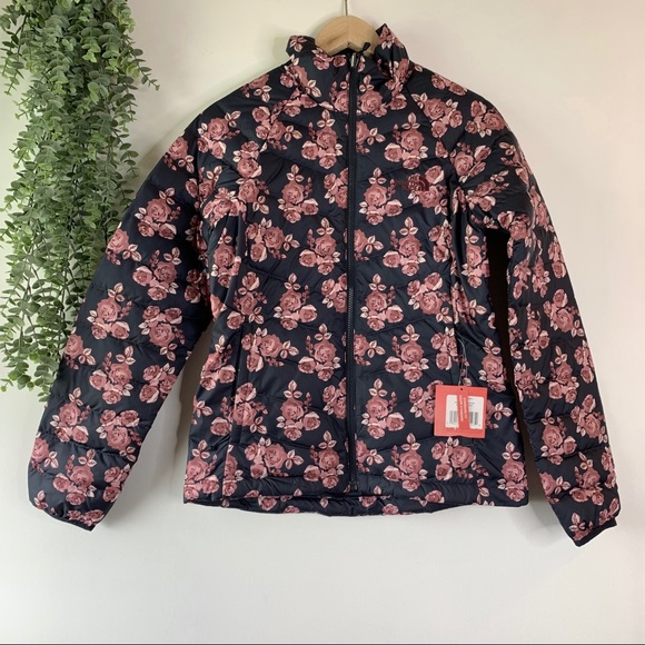 The North Face Jackets & Blazers - The North Face | Goose Flare Down Floral Puffer